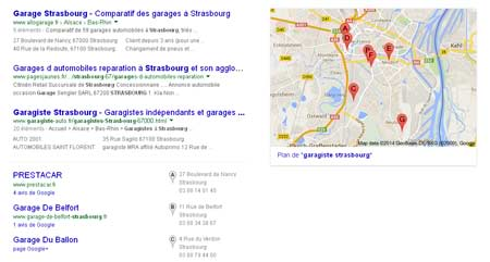 google-adresse-map